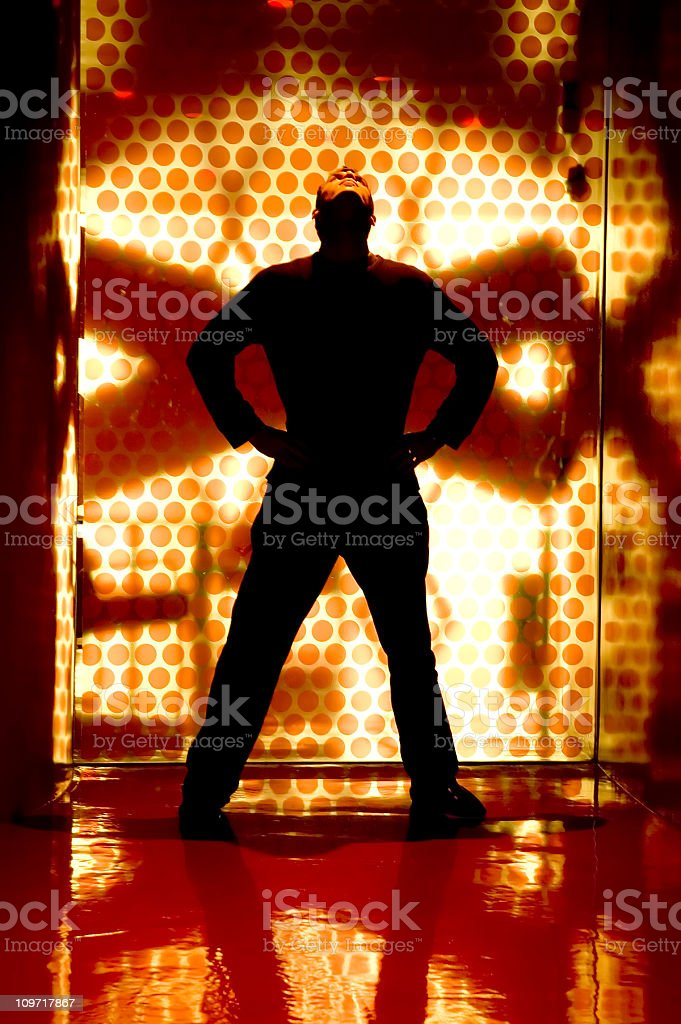 Abstract Silouette 2 royalty-free stock photo