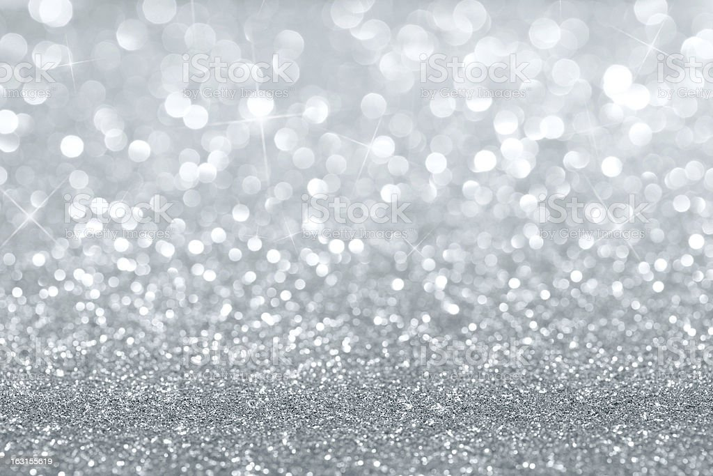 Abstract silver background stock photo