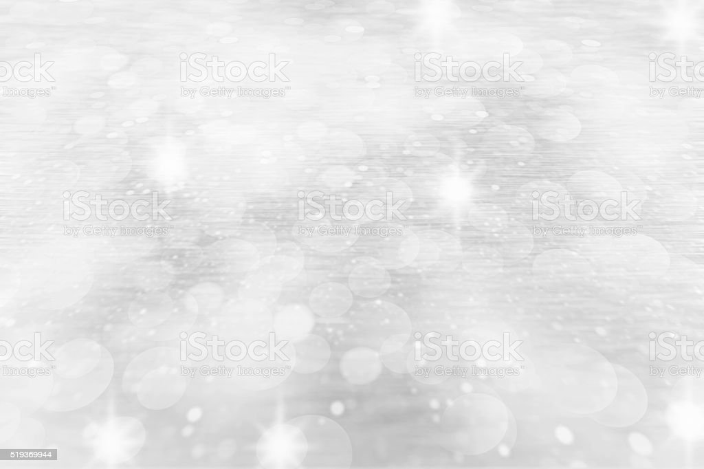 Abstract silver glitter  Christmas background stock photo