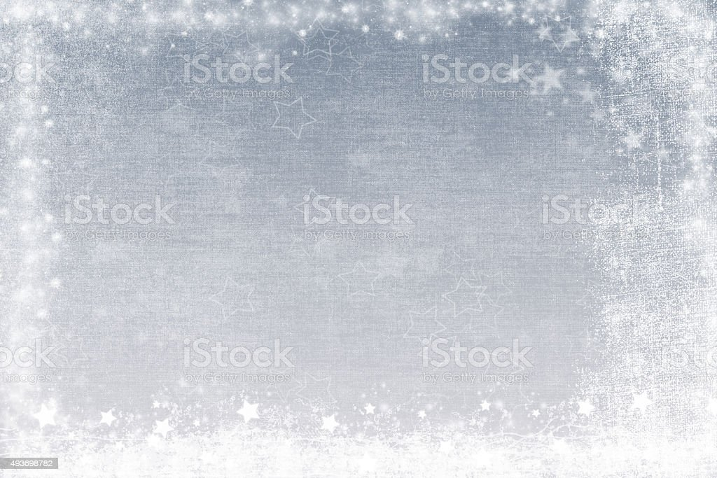 Abstract silver grunge background stock photo
