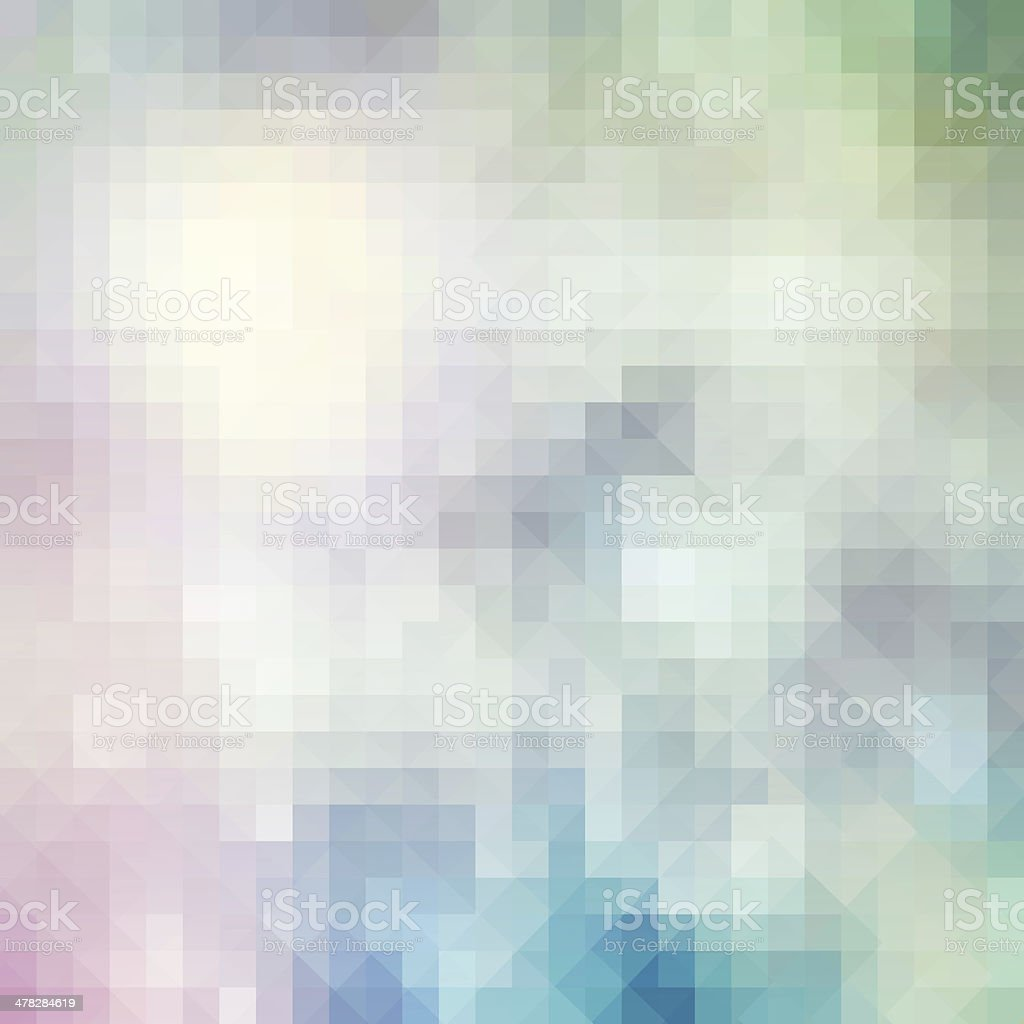Abstract silver pixel background royalty-free stock photo