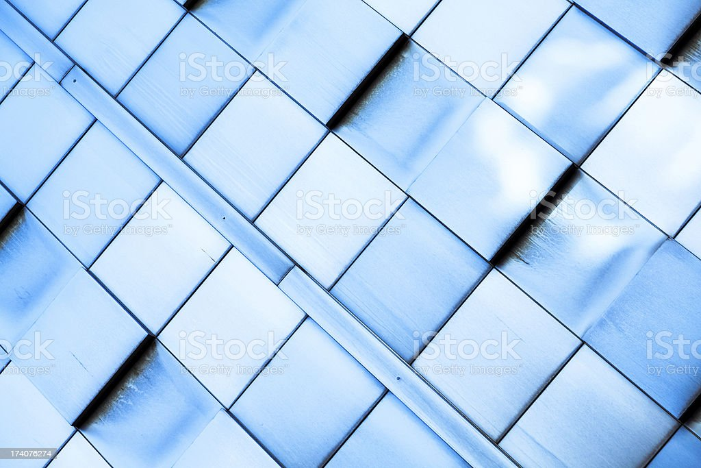 Abstract skyscraper close-up stock photo