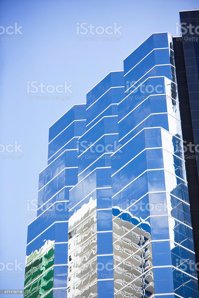 Abstract skyscraper royalty-free stock photo