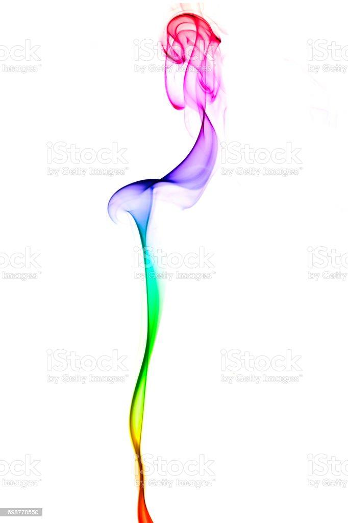 Abstract smoke art stock photo