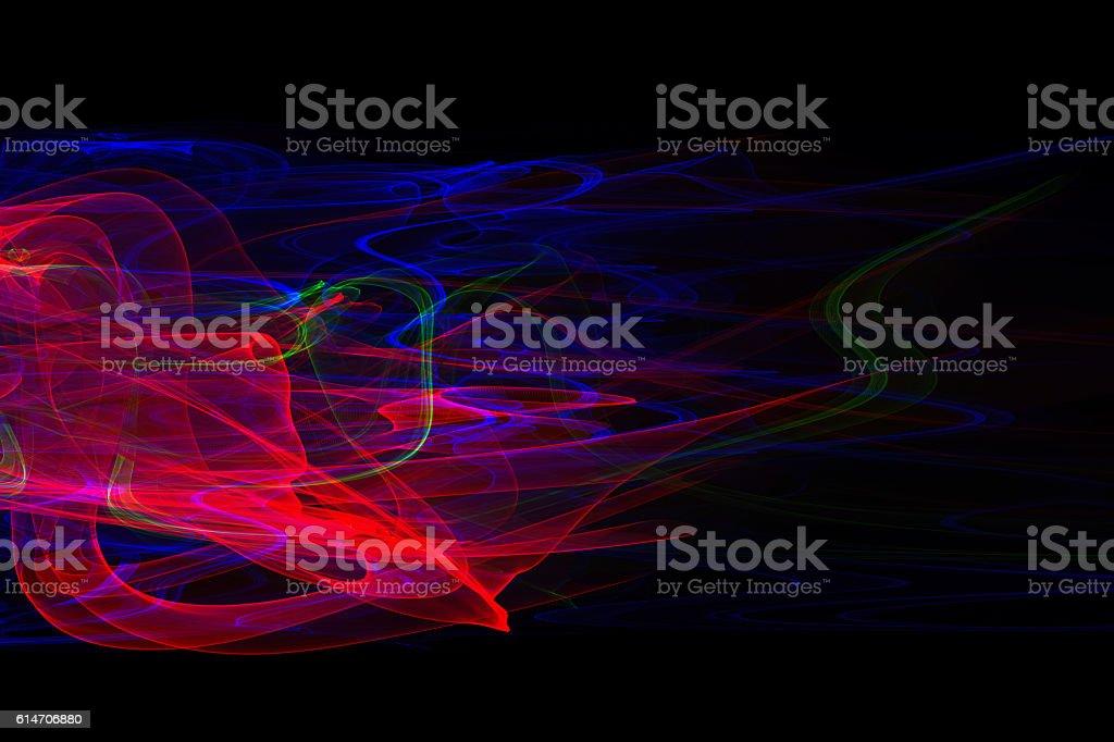 Abstract Smoke Background stock photo