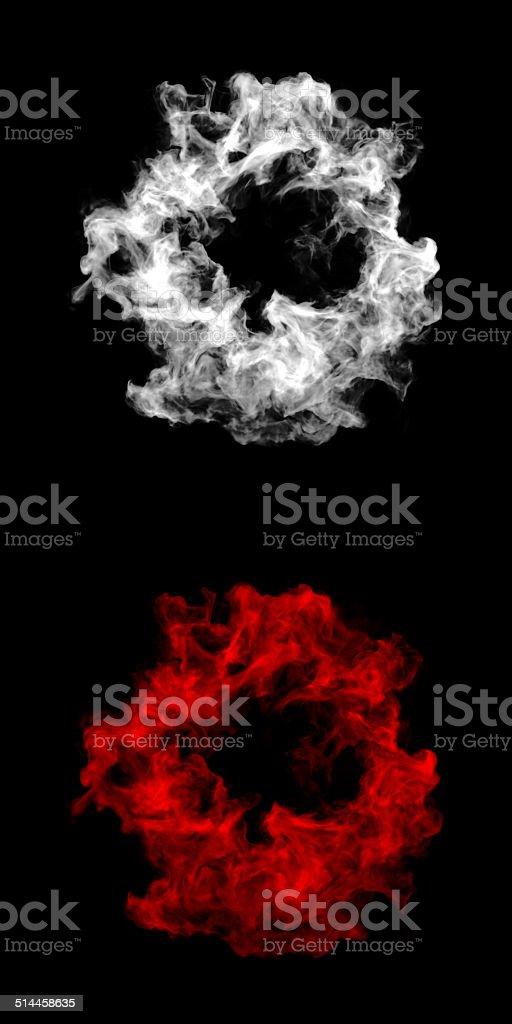 Abstract Smoke Cloud stock photo