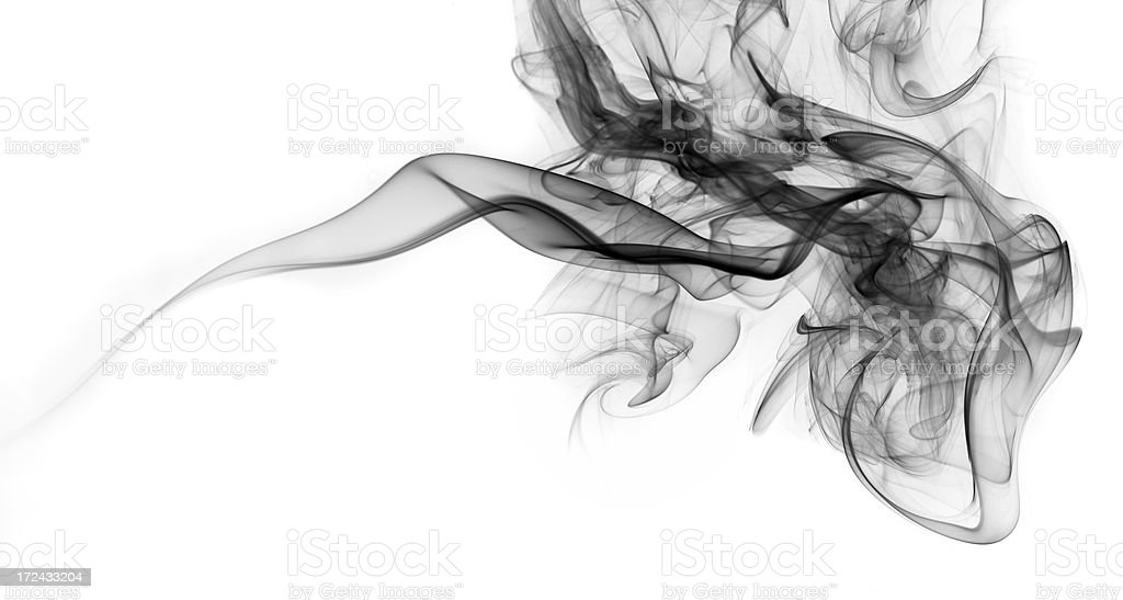 Abstract smoke royalty-free stock photo