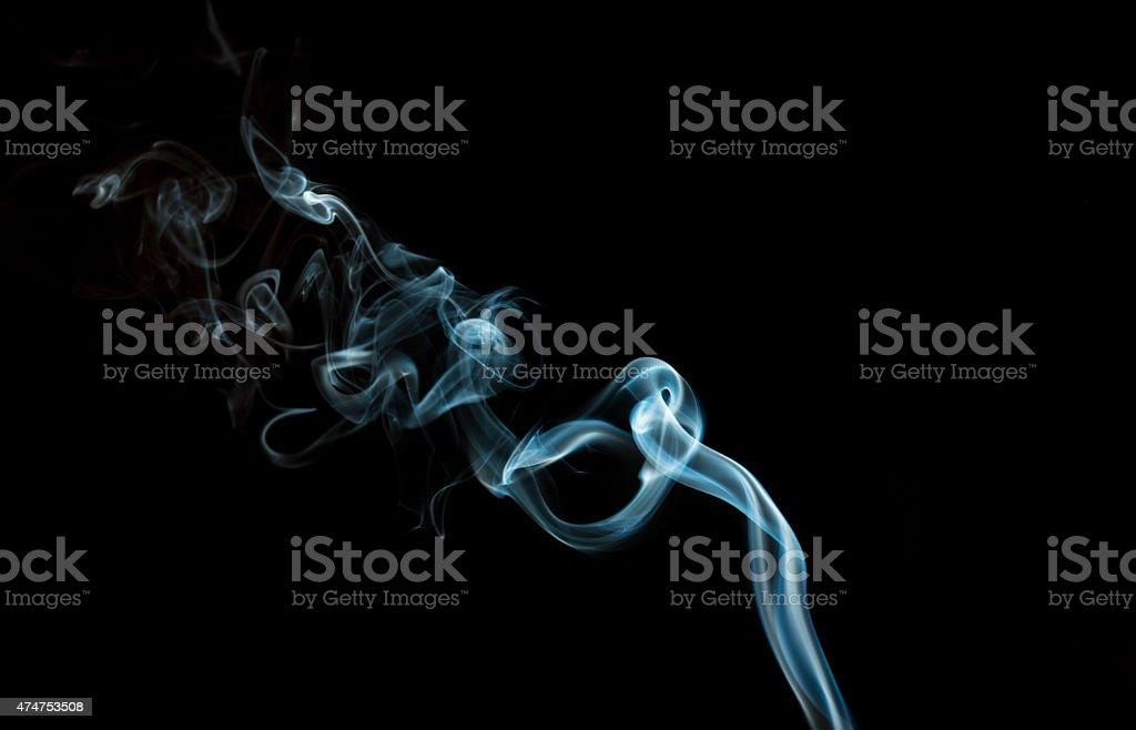 Abstract smoke stock photo