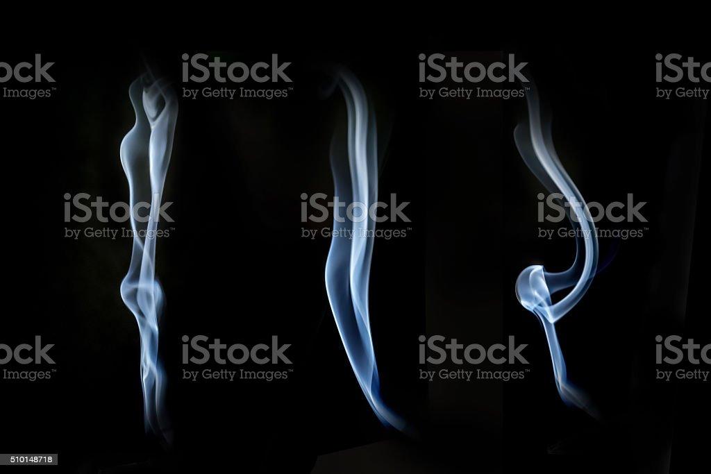 Abstracto humo foto de stock libre de derechos