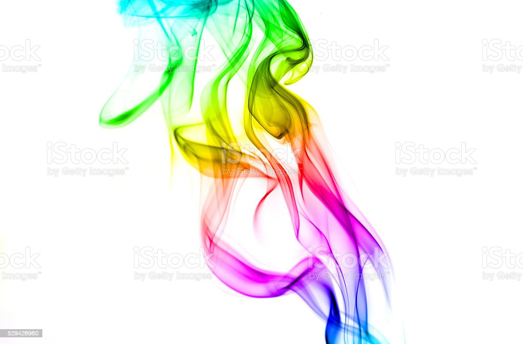 Abstract  smoke. stock photo