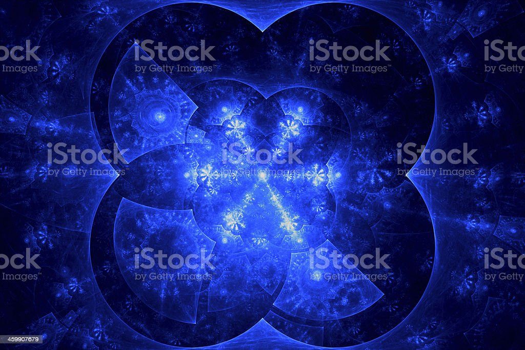 Abstract snowflake background royalty-free stock photo