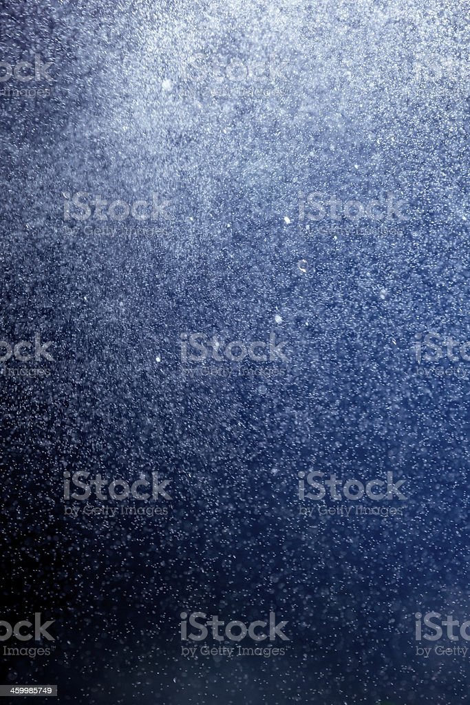 Abstract snowstorm pattern stock photo