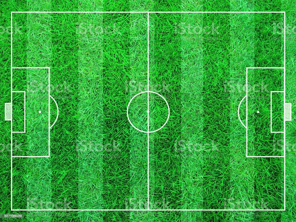 Abstract Soccer Field vector art illustration