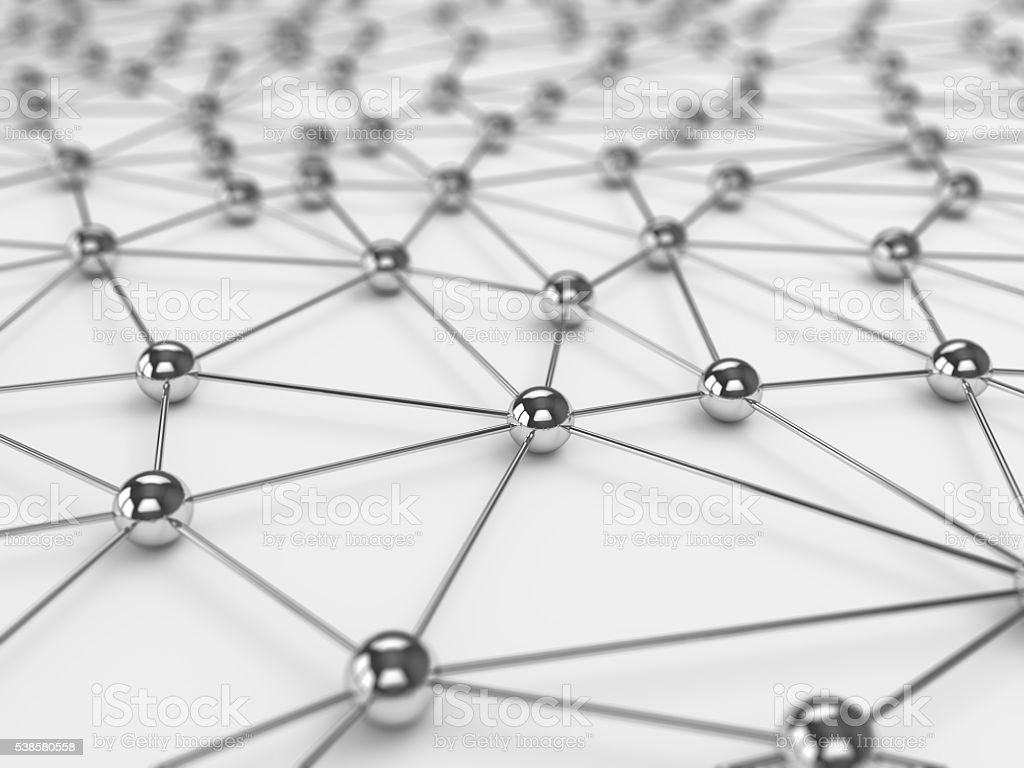 Abstract social network background stock photo