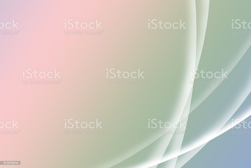 Abstract soft blue, green and pink spring background; desktop style stock photo