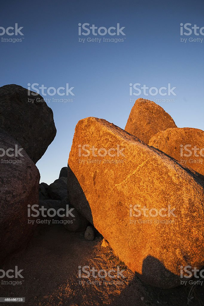 abstract southwest landscape royalty-free stock photo