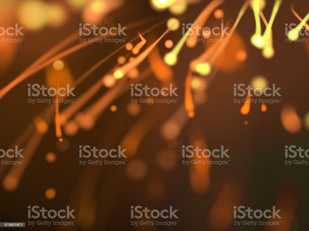 Abstract sparkle, spermie background stock photo