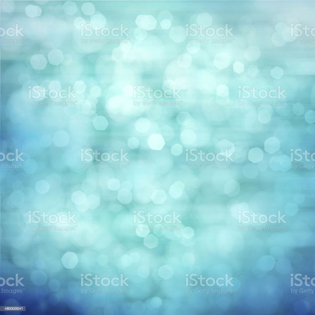 Abstract sparkling water background stock photo
