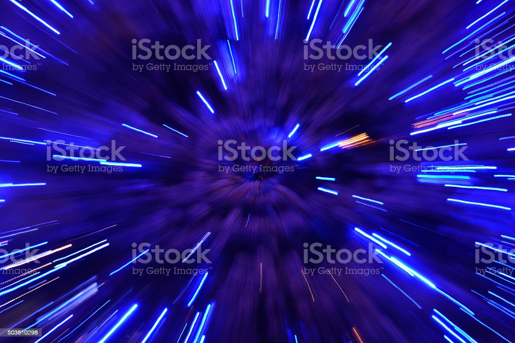 Abstract speed technology background stock photo