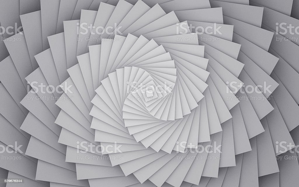 Abstract Spiral Background. Modern Geometric Illustration Background. stock photo