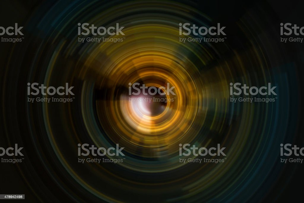 abstract spiral radial motion background stock photo