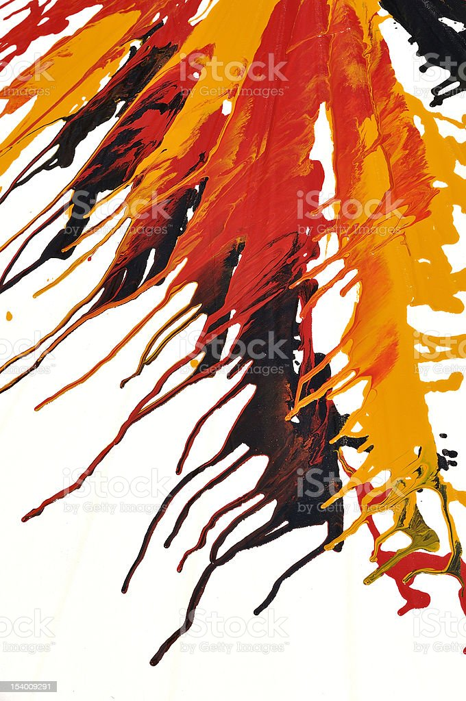 Abstract splash oil colors royalty-free stock photo