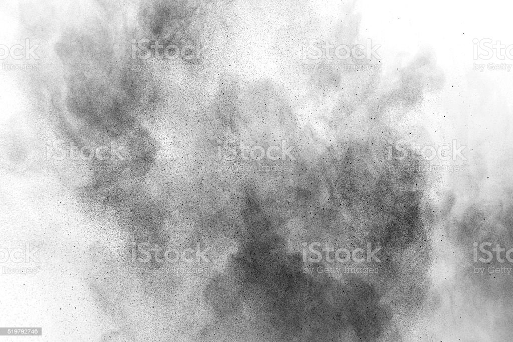 abstract splatted on white background stock photo