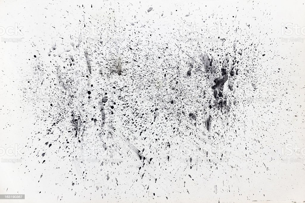 abstract splatter painting royalty-free stock photo