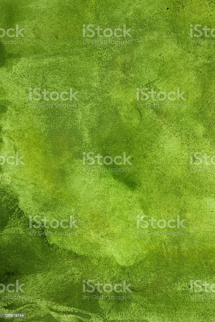 Abstract spring background in green stock photo