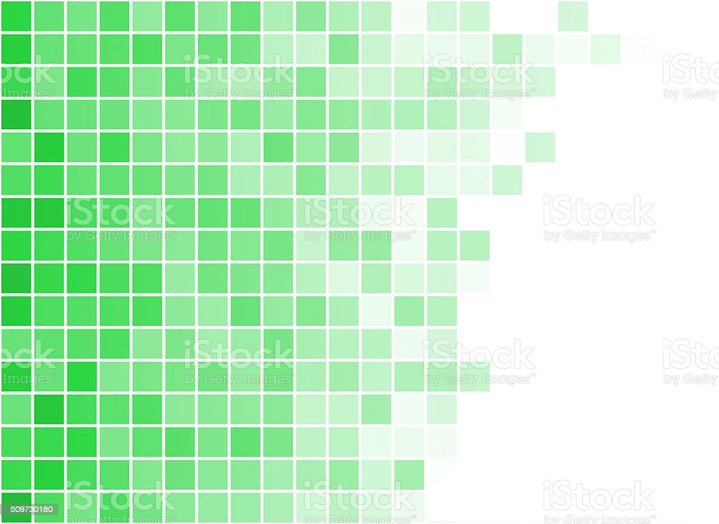 abstract square pixel mosaic background stock photo