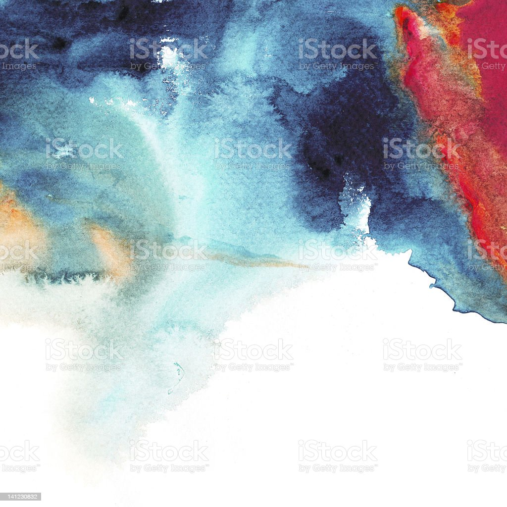 Abstract stain watercolors. royalty-free stock vector art