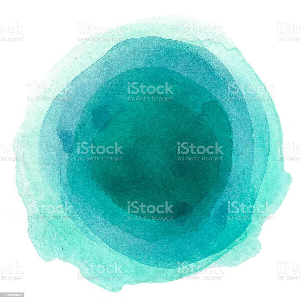Abstract stain watercolors stock photo