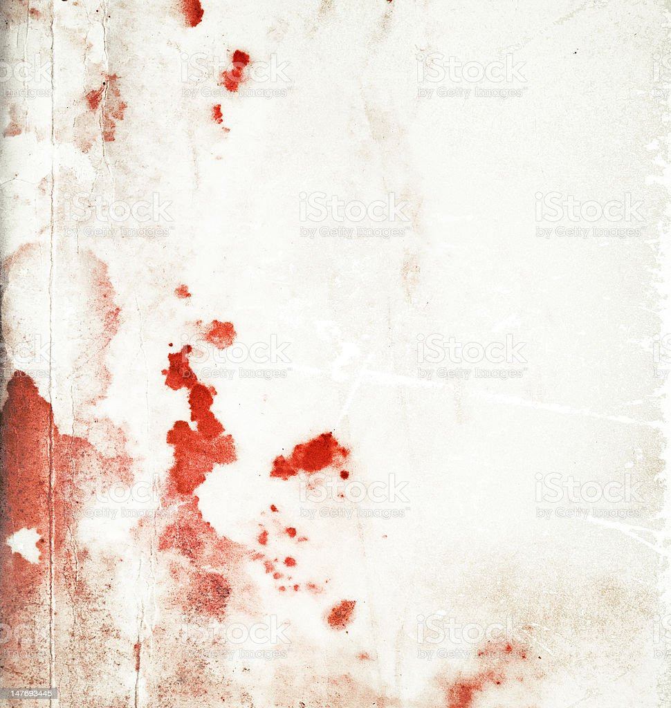Abstract stained bloody background stock photo