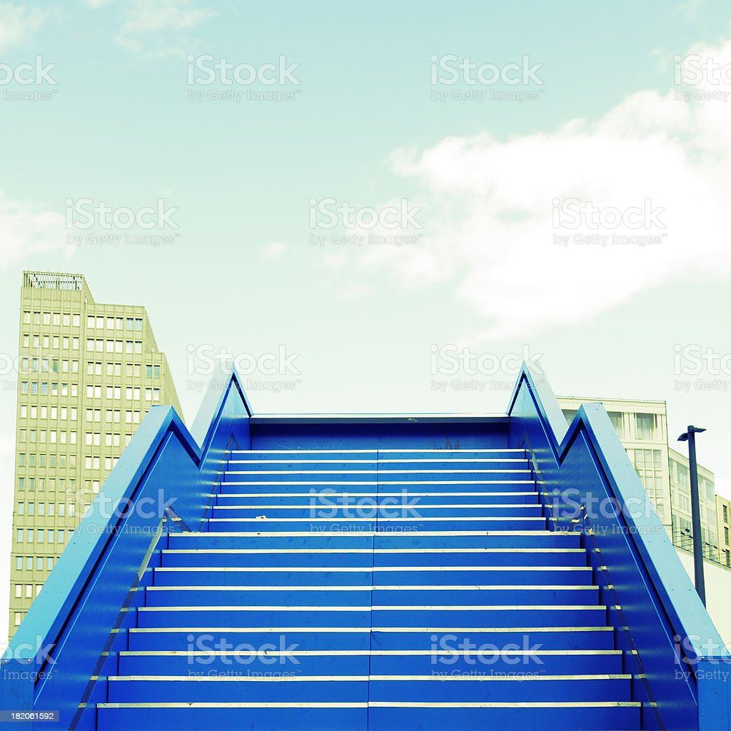 Abstract Staircase,Berlin. royalty-free stock photo