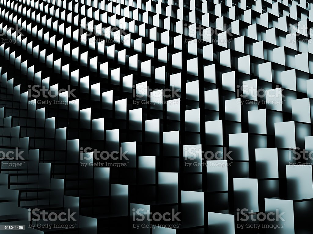 Abstract stairs background stock photo