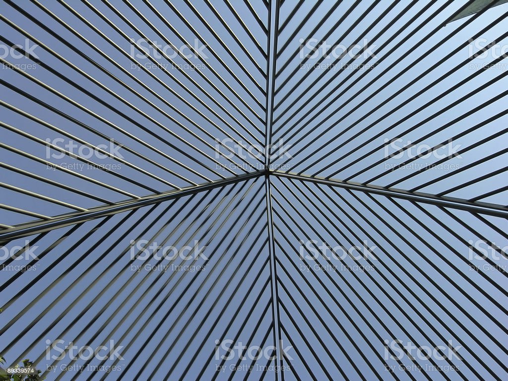 Abstract Steel Construction royalty-free stock photo