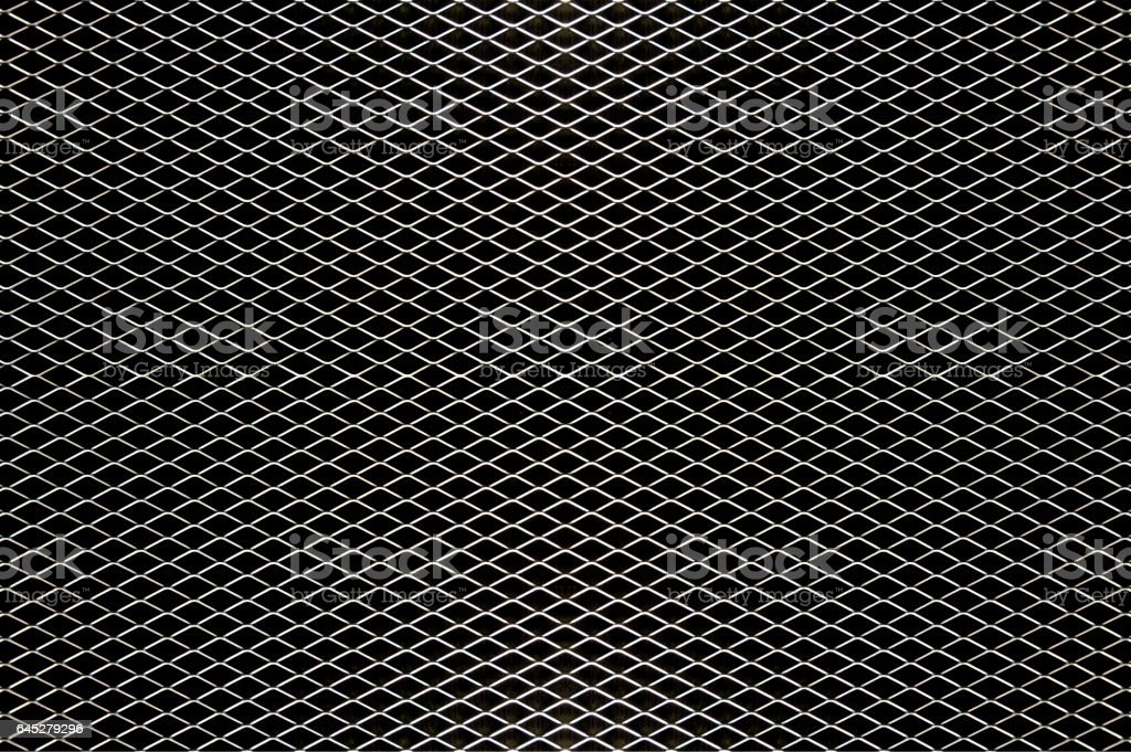 Abstract steel net : Decoration industry style. stock photo