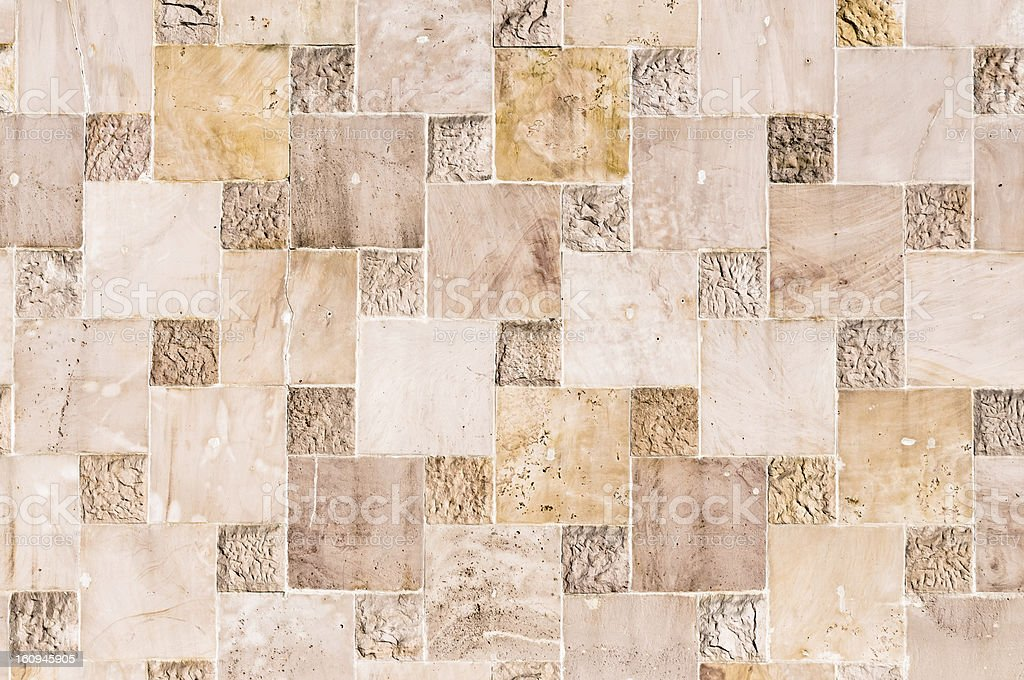abstract stone quadratic background or texture royalty-free stock photo