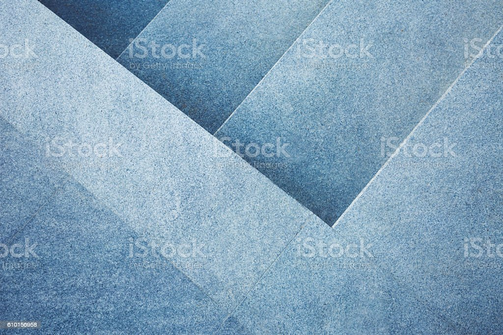 Abstract stone stairs background stock photo