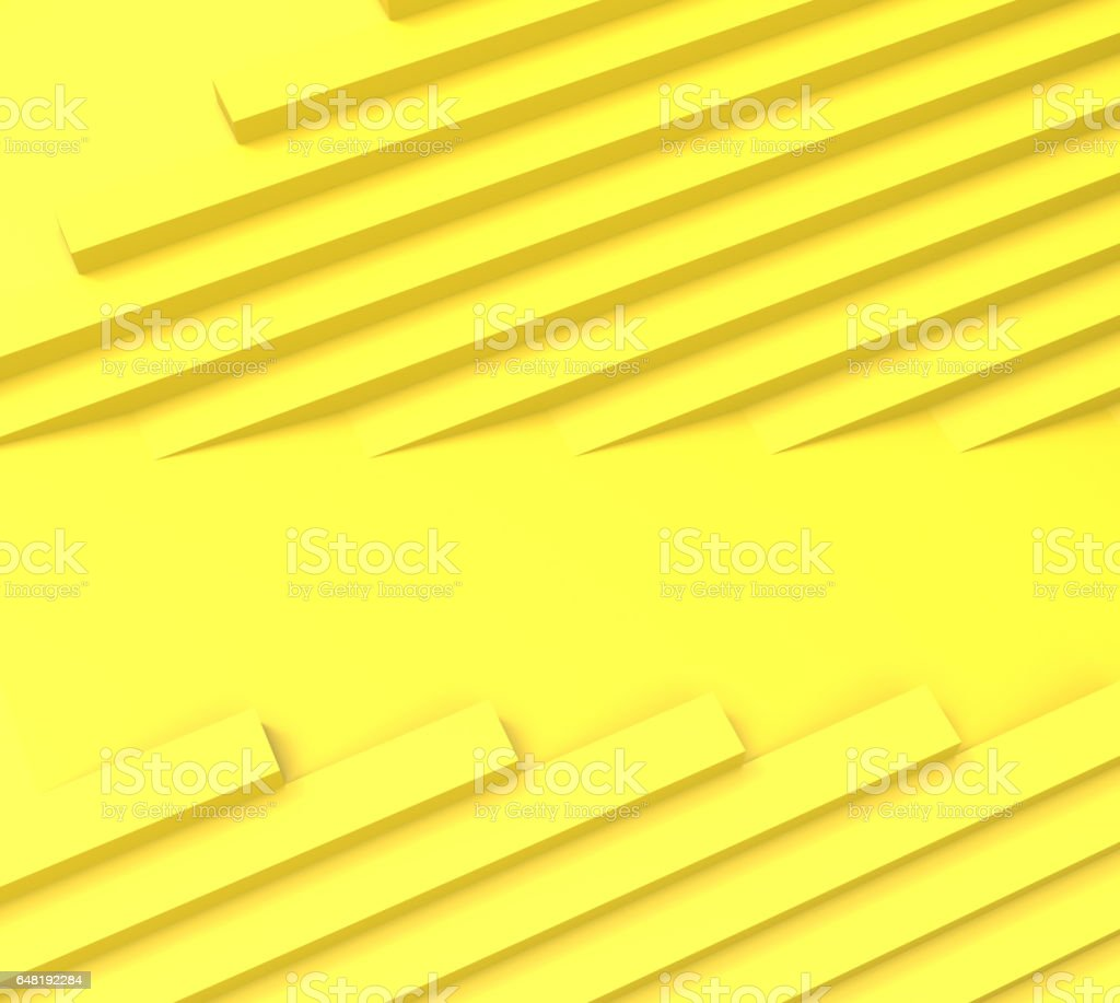 Abstract Straight geometric Yellow rhythm Concept and background stock photo