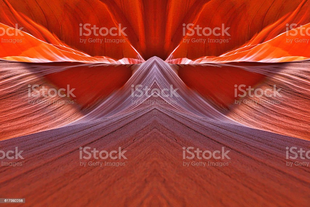 Abstract Streaming Technology Background stock photo