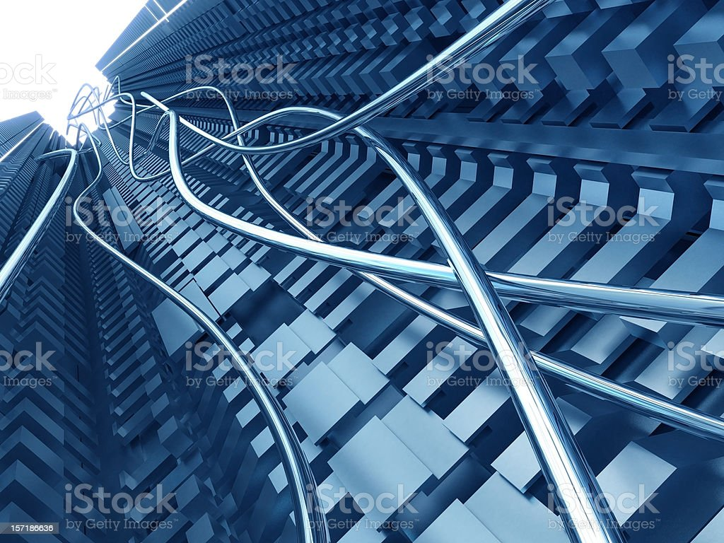 abstract structure royalty-free stock photo