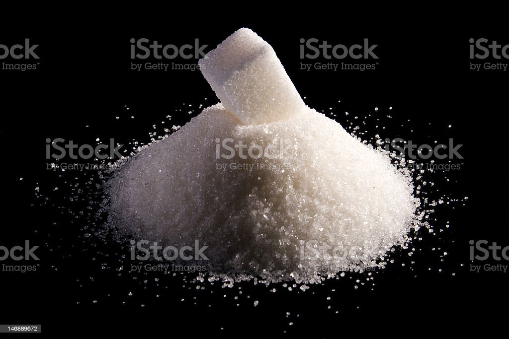 Abstract sugar royalty-free stock photo