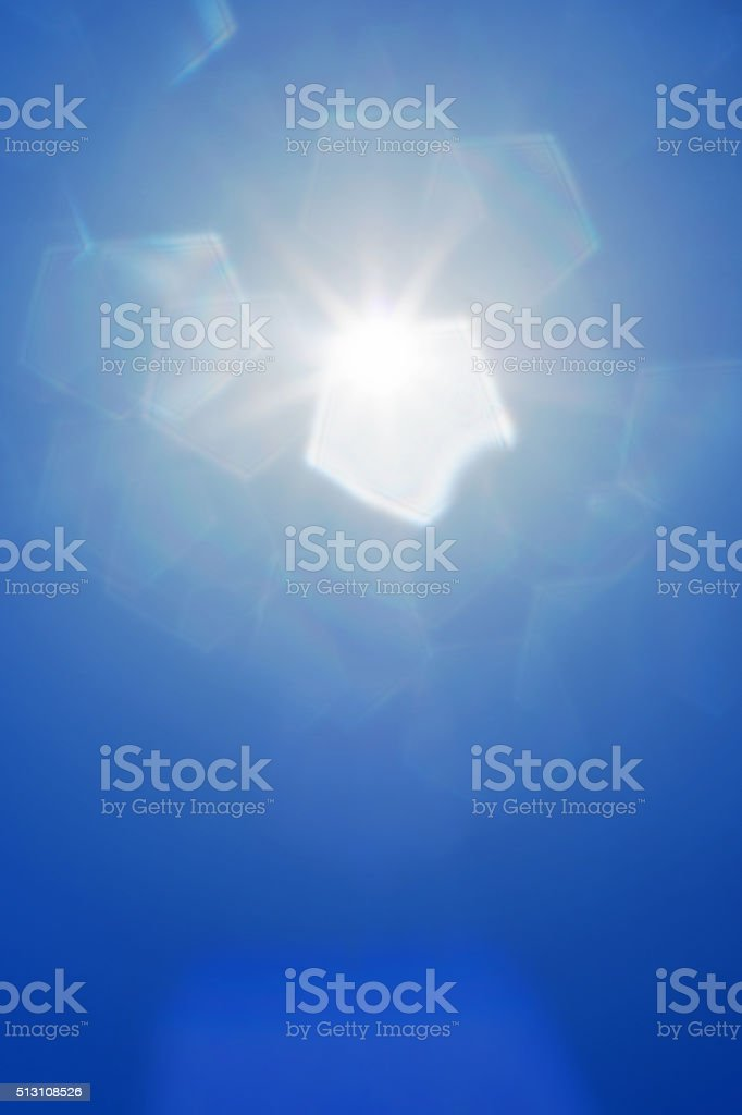 abstract sunlight stock photo