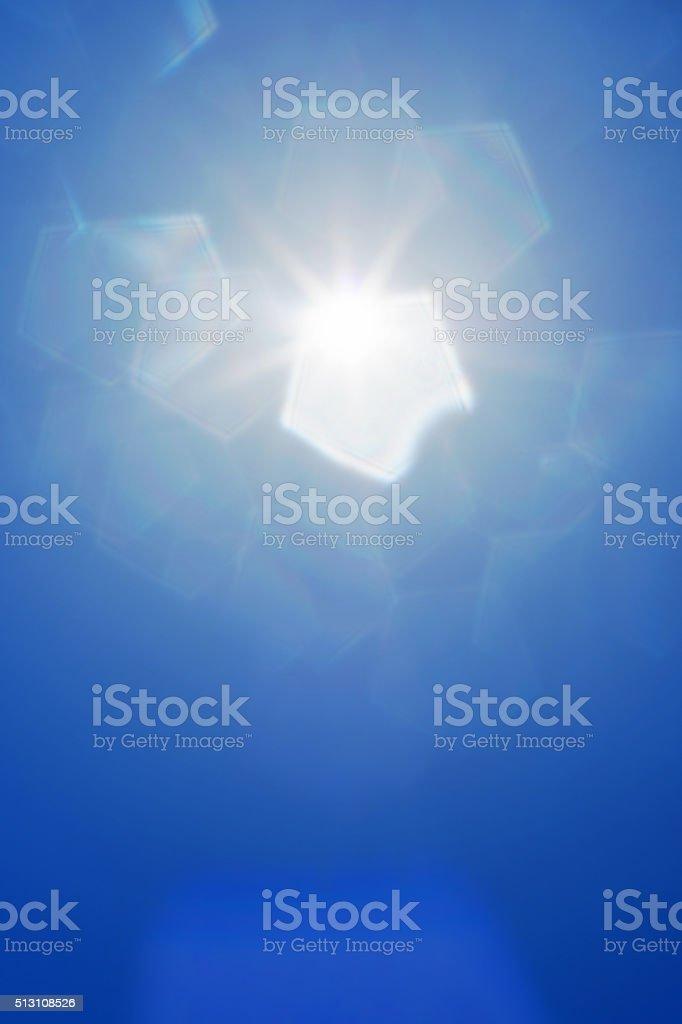 abstract sunlight stock photo
