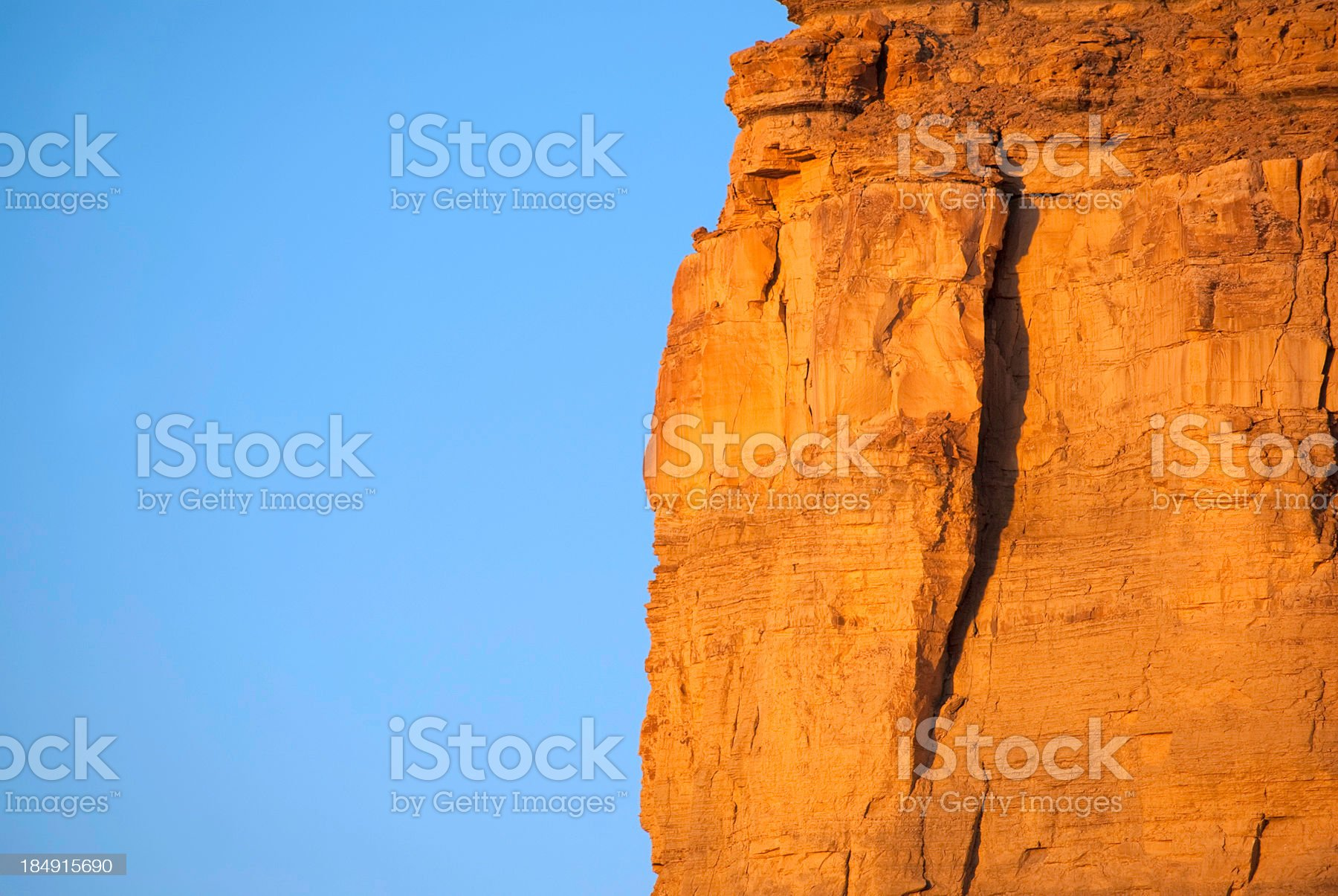 abstract sunset landscape badlands royalty-free stock photo