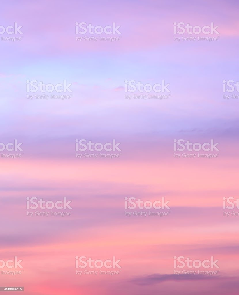 Abstract sunset sky background stock photo