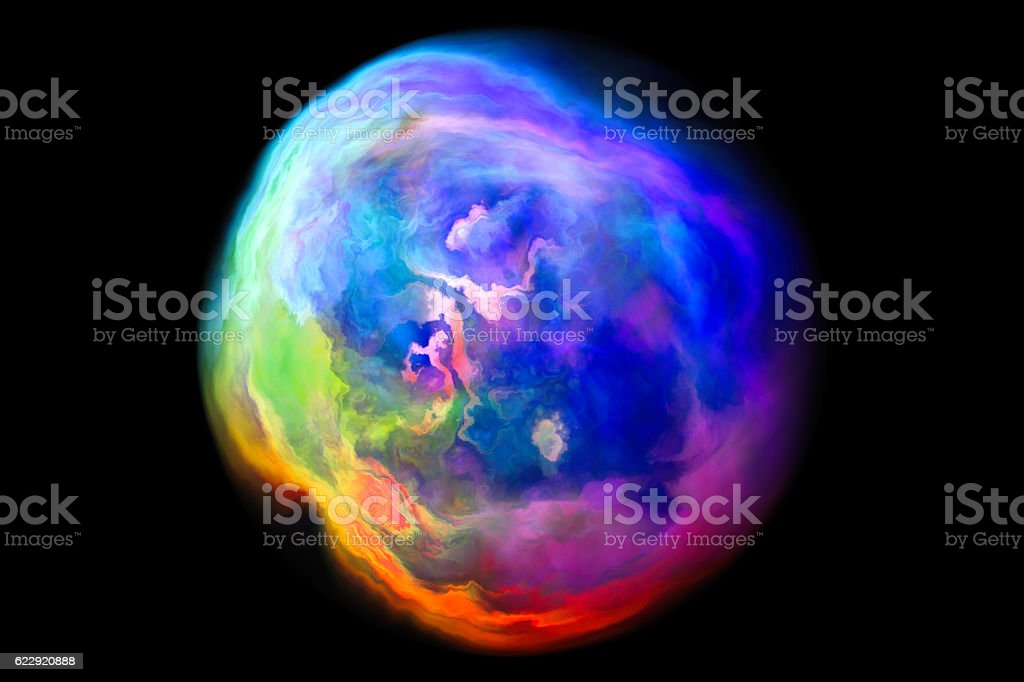 Abstract surface of a bubble stock photo