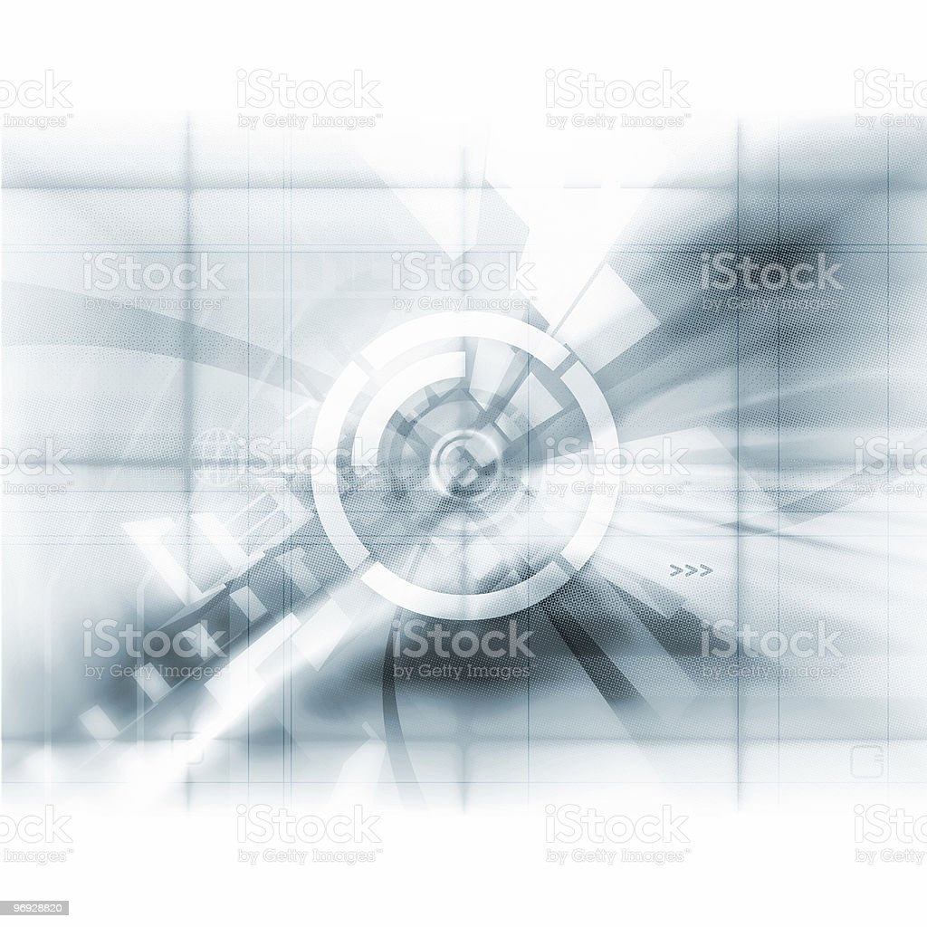 Abstract Tech royalty-free stock photo