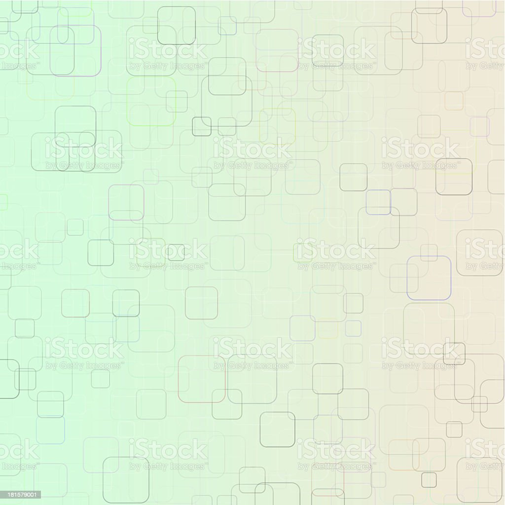 Abstract Technical Geometric Square Background royalty-free stock photo